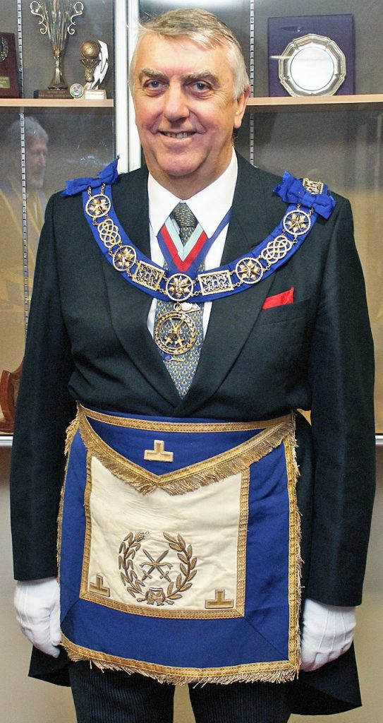 Very Worshipful Brother Graham Charles King, PGSwdB, Deputy PGM designate
