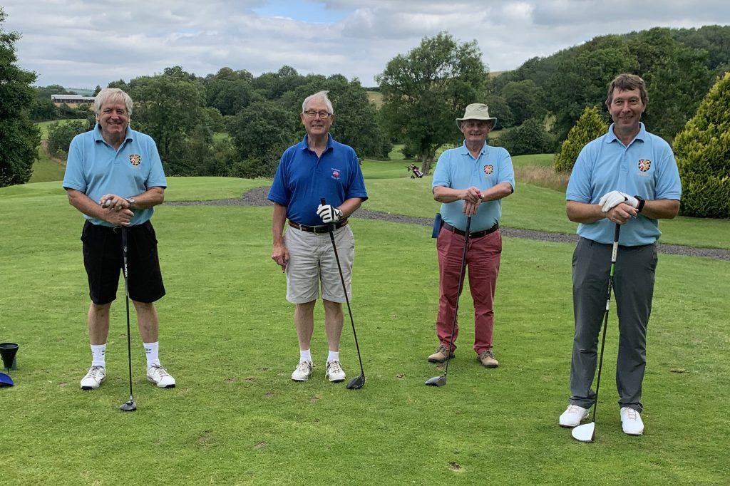 Herefordshire Masonic Golfing Society Team 1