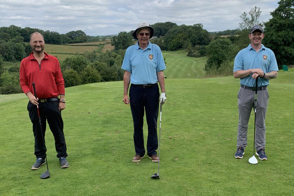 Herefordshire Masonic Golfing Society Team 2