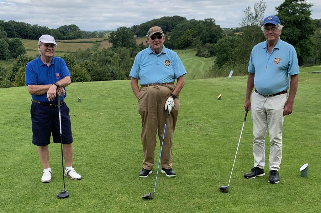 Herefordshire Masonic Golfing Society Team 3
