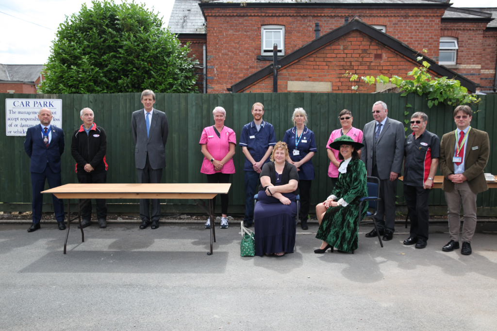 Lord Lieutenant of Herefordshire and honoured guests