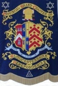 Provincial Grand Chapter Gloucestershire & Herefordshire Banner